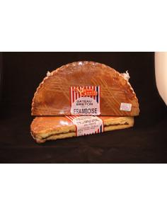 Le gateau breton fourré caramel